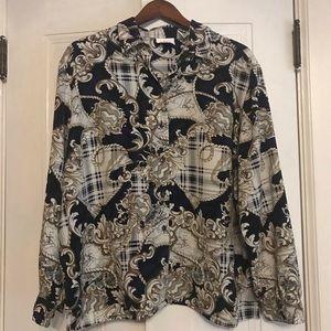 ALIA vintage plus size blouse